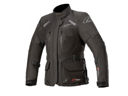 moto bunda ALPINESTARS STELLA ANDES DRYSTAR 2021 (TECH-AIR 5 kompatibilní) černá/tmavě šedá