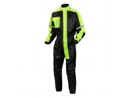 jednodílná pláštěnka OZONE black/fluo yellow