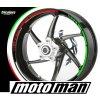 proužky na ráfky MOTOGRAFIX RACING POTISK ITALIA