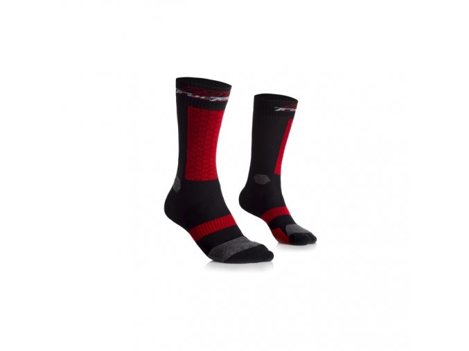 RST 0285 TracTech Socks BLK-S-M