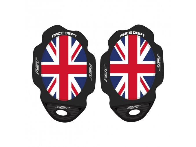 RST 0307 Factory Flag Series Union Jack Knee Sliders