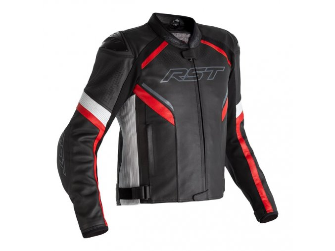 2530 sabre airbag leather jacket red 001