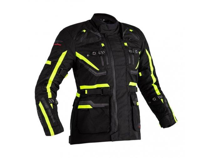 2580 pro series paragon 6 airbag CE ladies textile jacket flo yellow 001