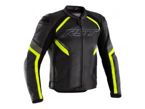 2529 sabre airbag leather jacket flo yellow 001