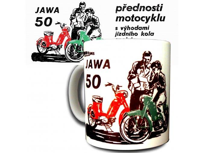 Jawa 50 přednosti