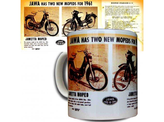 Moto hrnek Jawa moped 1961 kopie