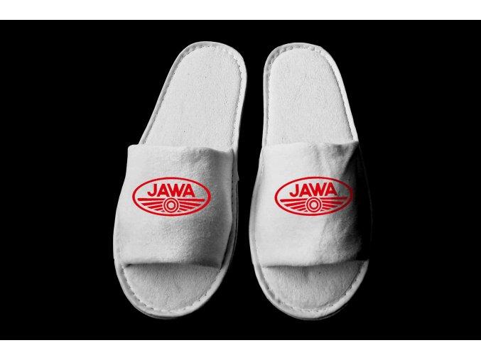 Jawa logo červené