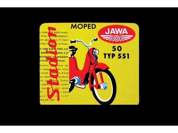 Jawa Moped stadion typ 551 kopie