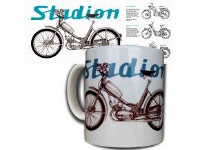 Moto hrnek Jawa stadion S11