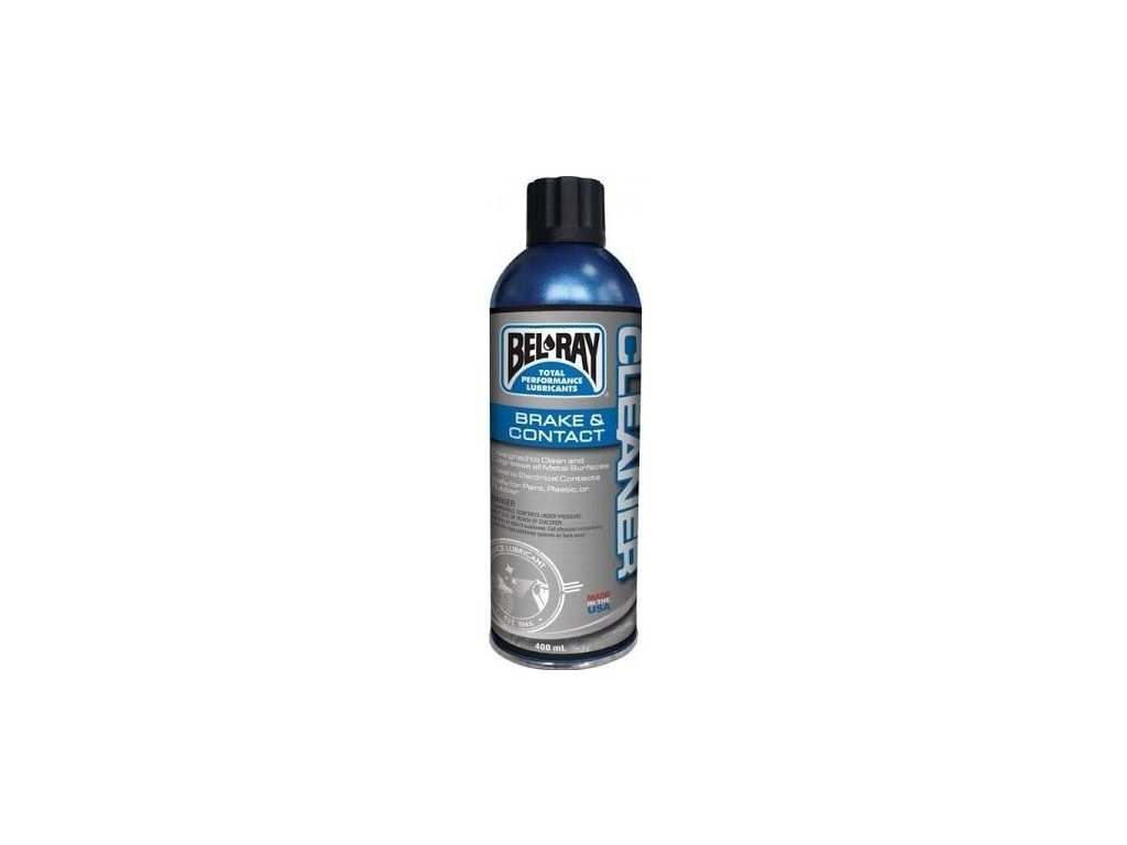 Víceúčelový čistič Bel-Ray BRAKE & CONTACT CLEANER (400ml sprej)