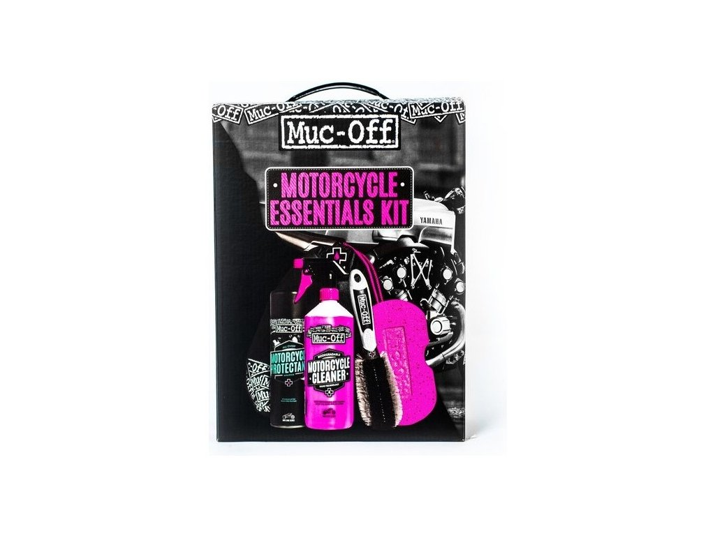 "alt=""Muc-Off Motorcycle Essentials Cleaning Kit"""