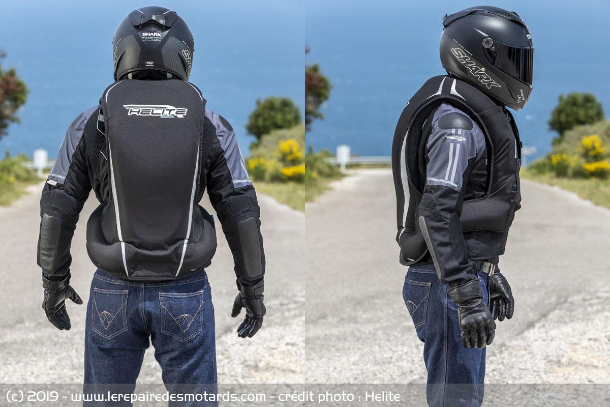Airbagové vesty Helite v novém kabátě