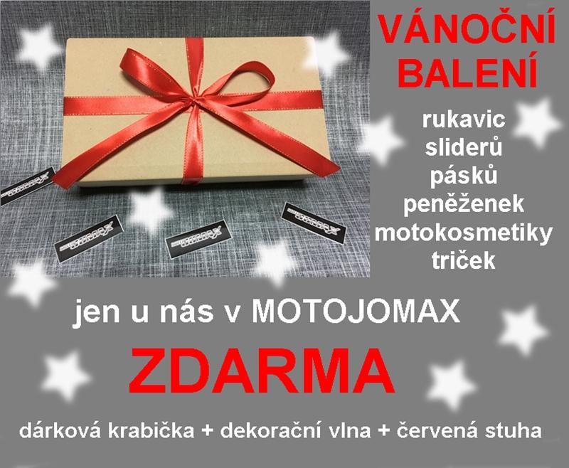 Vánoční balíčky pro motorkáře
