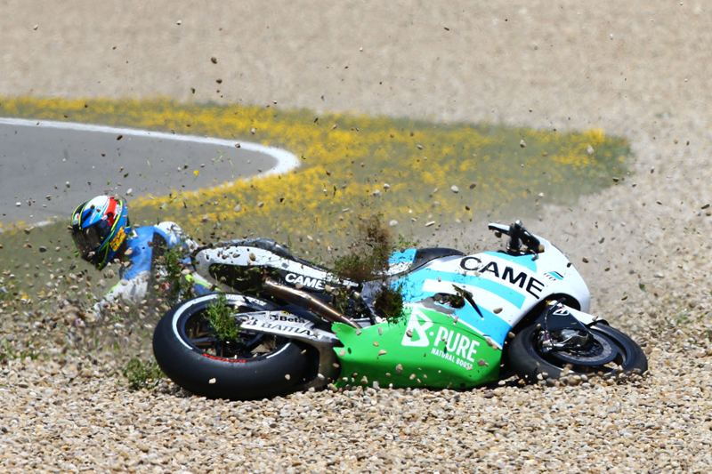 4SR MotoGP Pesek Czech crash 3