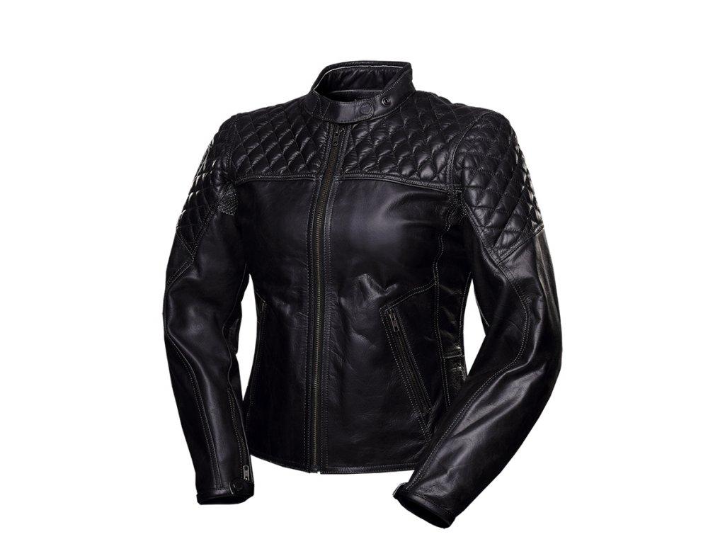 bunda na motorku 4SR Scrambler Lady Petroleum jacket 1