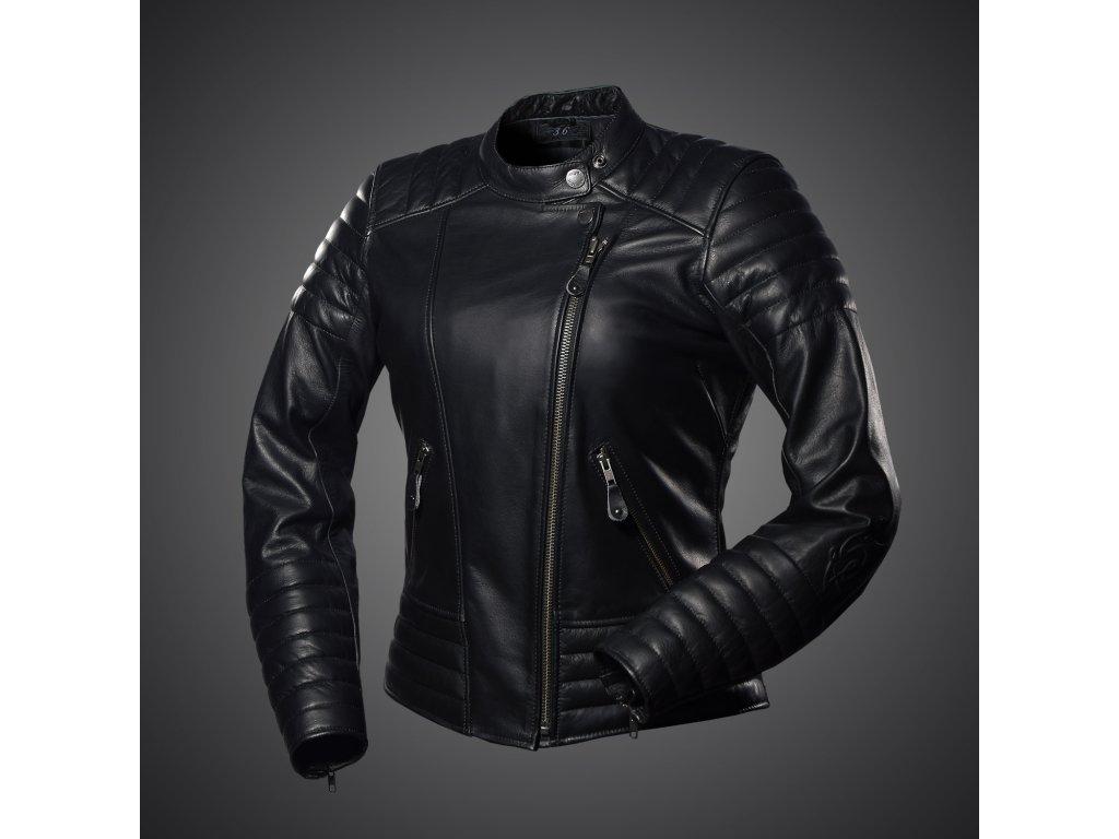 f09cf4bcd17 Kožená dámská bunda 4SR Cool Lady black - MOTOJOMAX