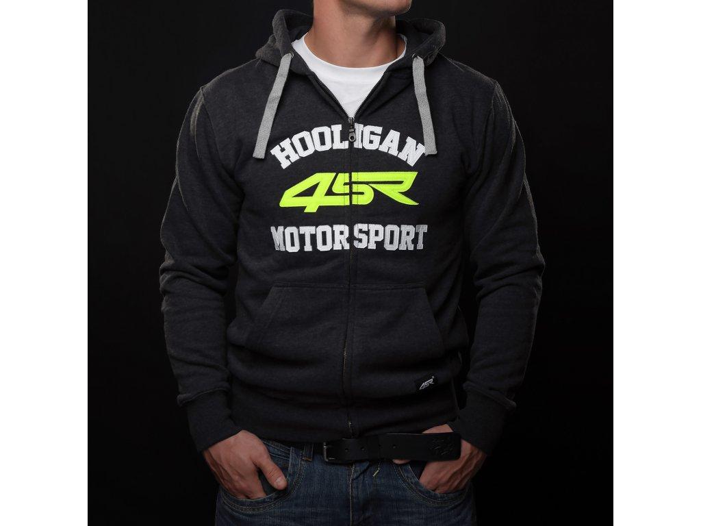 Mikina 4SR Motorsport neon - MOTOJOMAX 141786ab86
