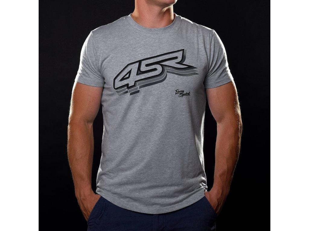triko 4sr triko tshirt logo grey 1