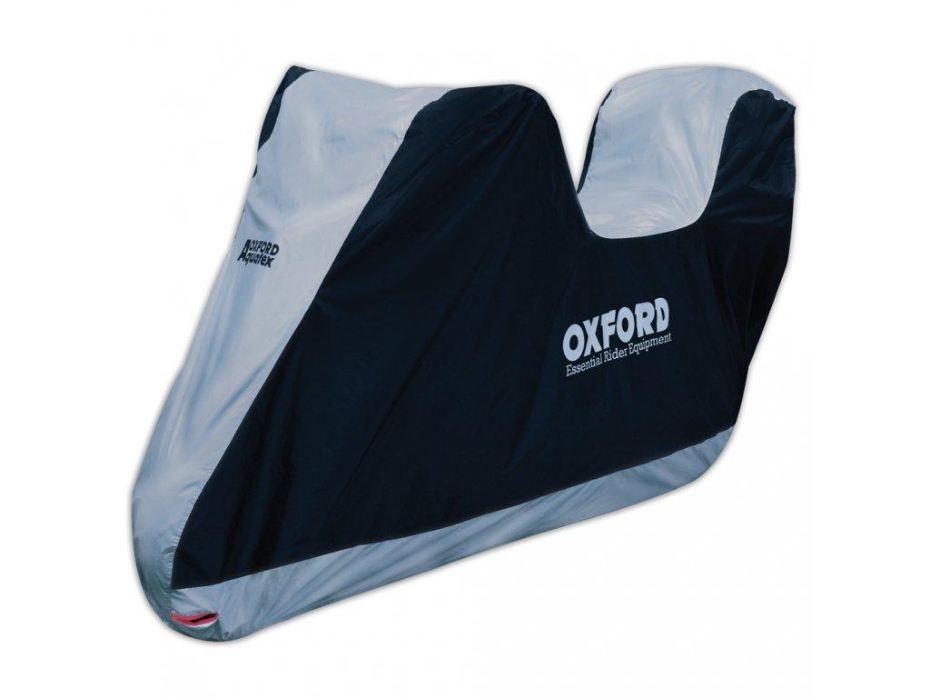 Plachta na motorku Oxford Aquatex s prostorem na kufr