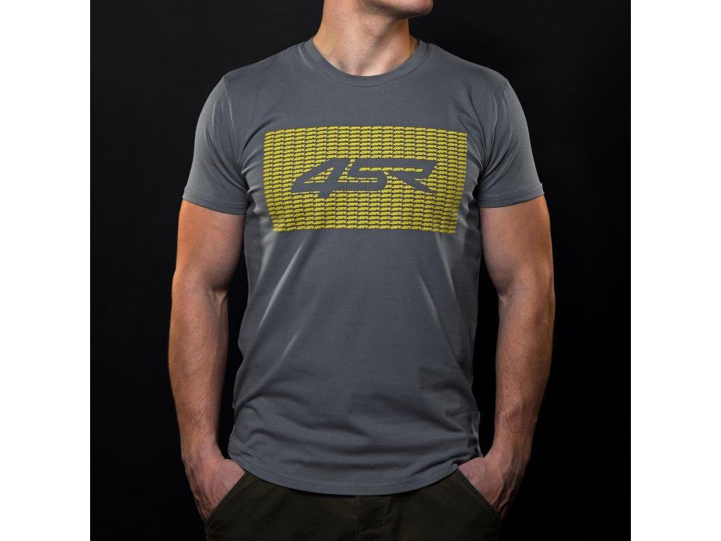 Tričko 4SR Symbol šedé