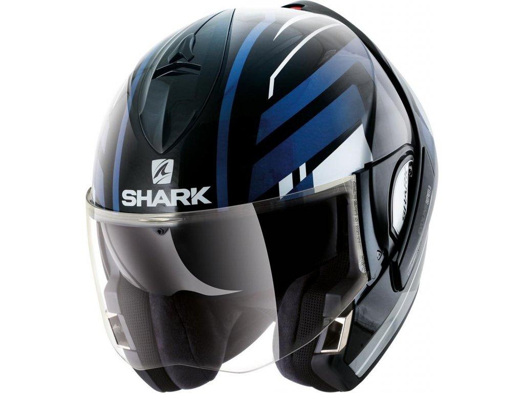 Prilba SHARK EVOLINE3 Corvus KWB