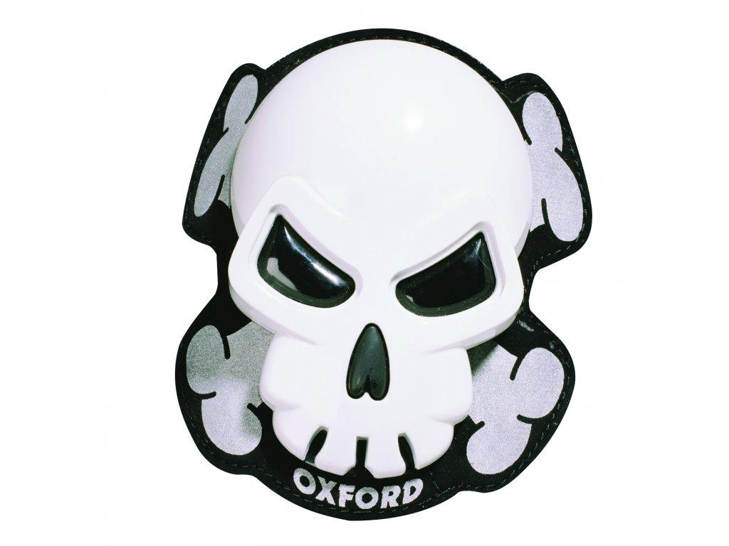 slidery skull white