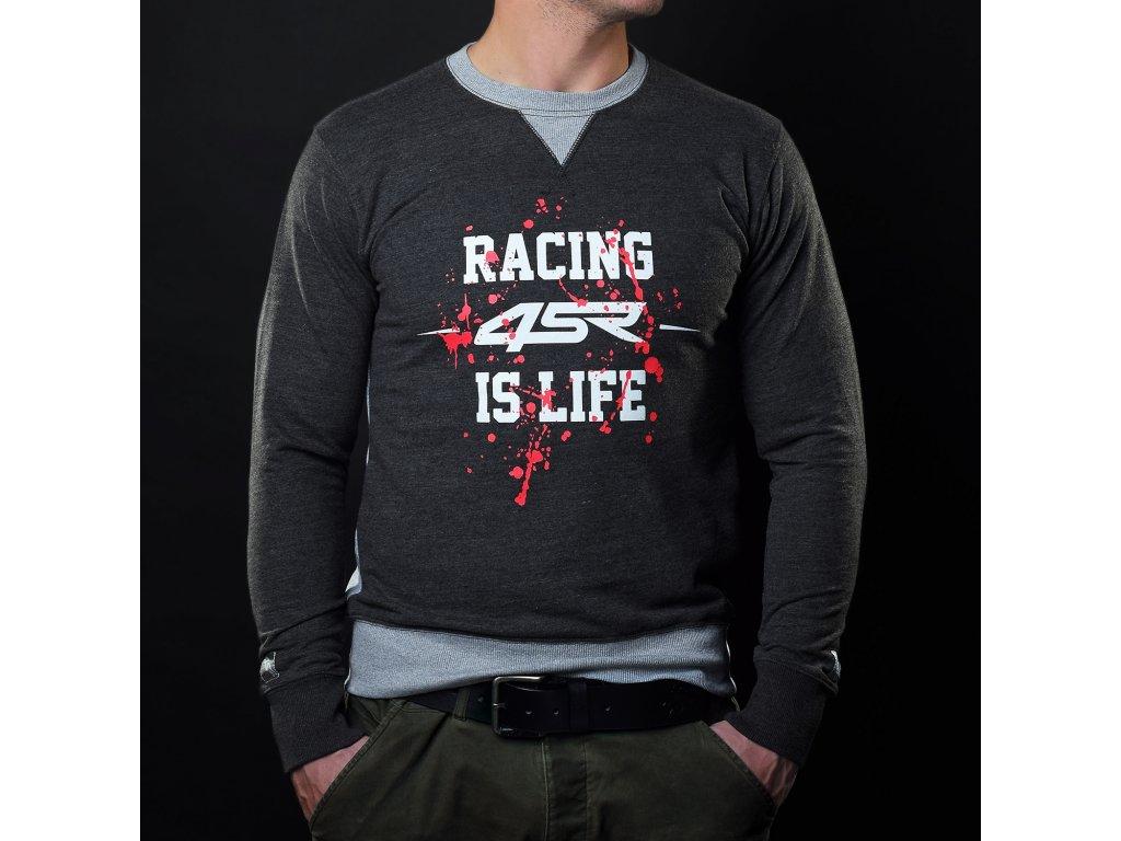 mikina 4sr sweatshirt life grey 1 394cd128914