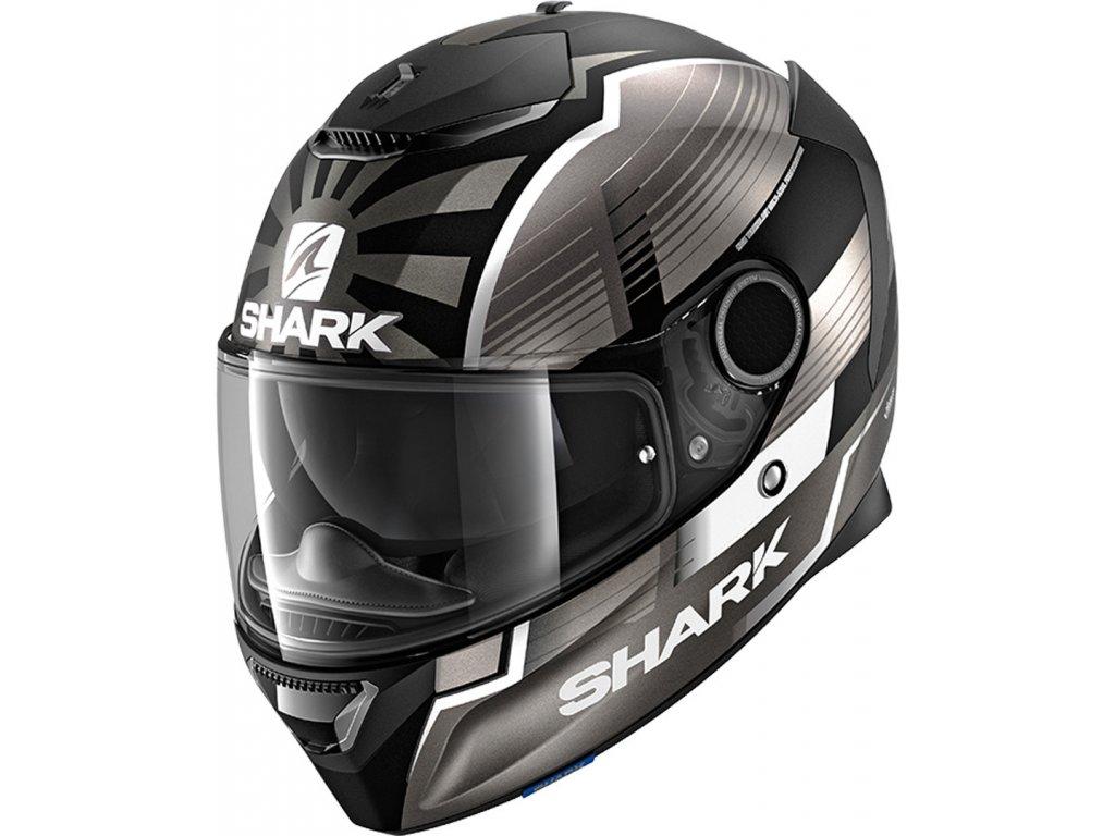 Prilba SHARK SPARTAN1.2 Zarco Malaysia GP mat KAS