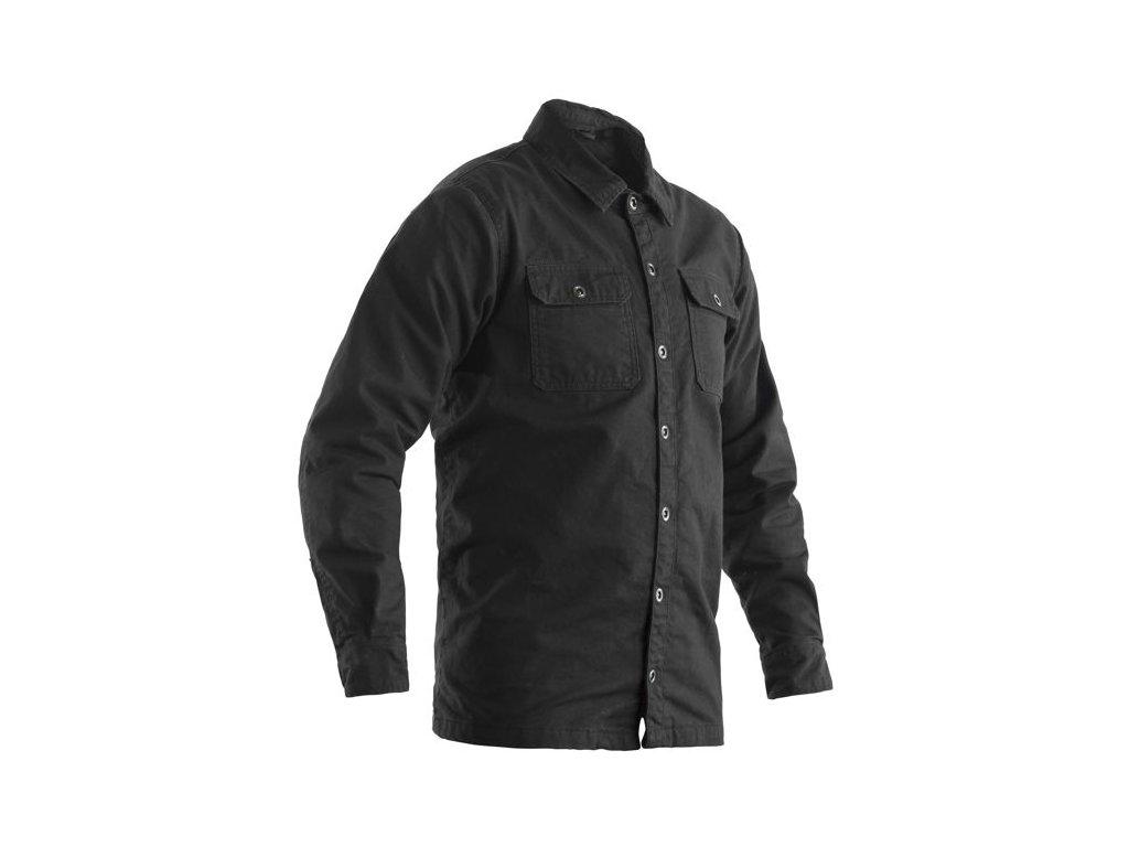 bunda 2214 heavy duty aramid lined shirt tex jkt gry 01