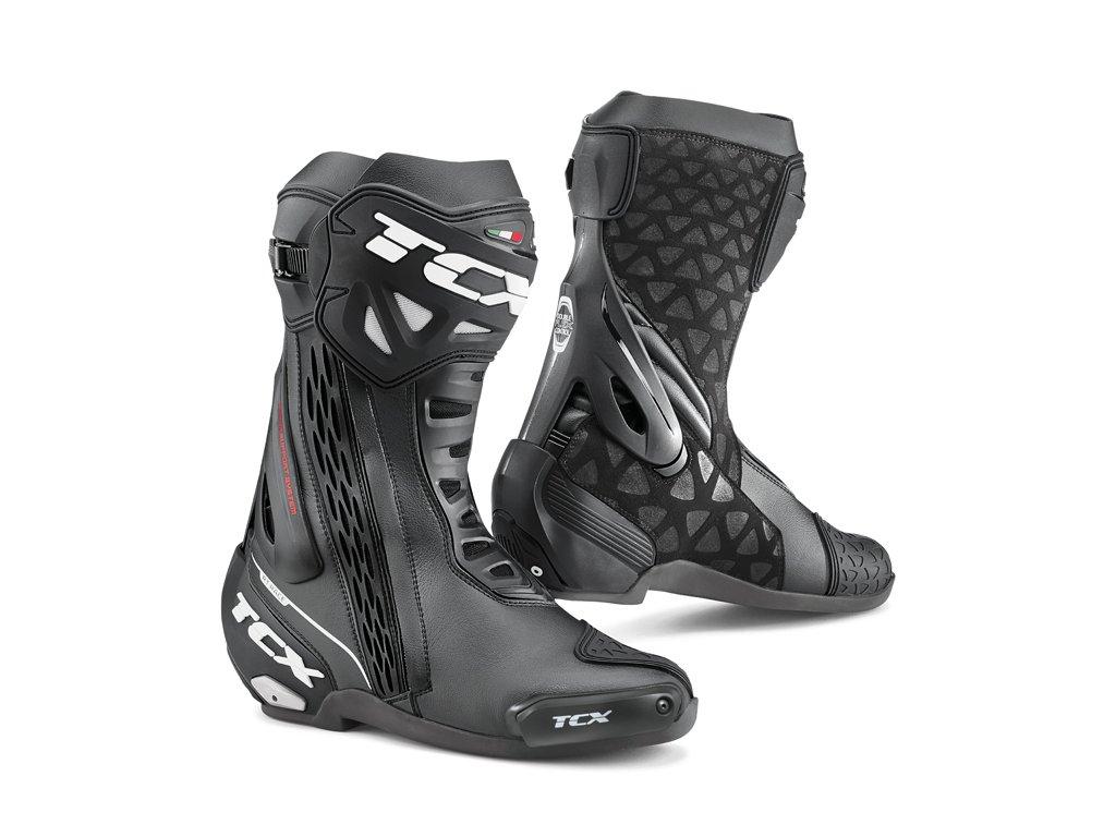 motocyklové boty rt race black