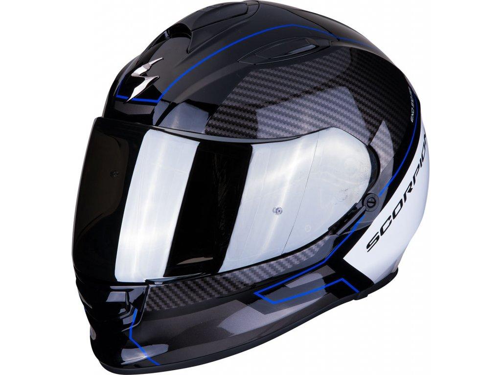 Prilba Scorpion EXO 510 AIR FRAME black blue white 4