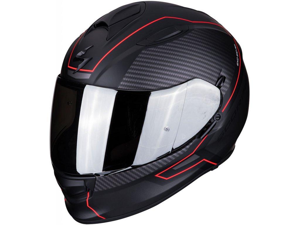 Prilba Scorpion EXO 510 AIR FRAME Black Red 4