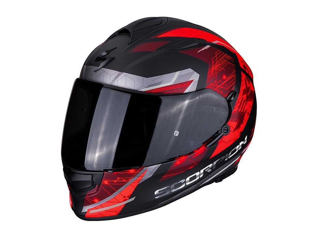 Scorpion EXO 510 AIR CLARUS black red 2