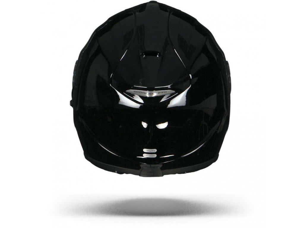 motocyklová přilba scorpion exo 1400 solid black