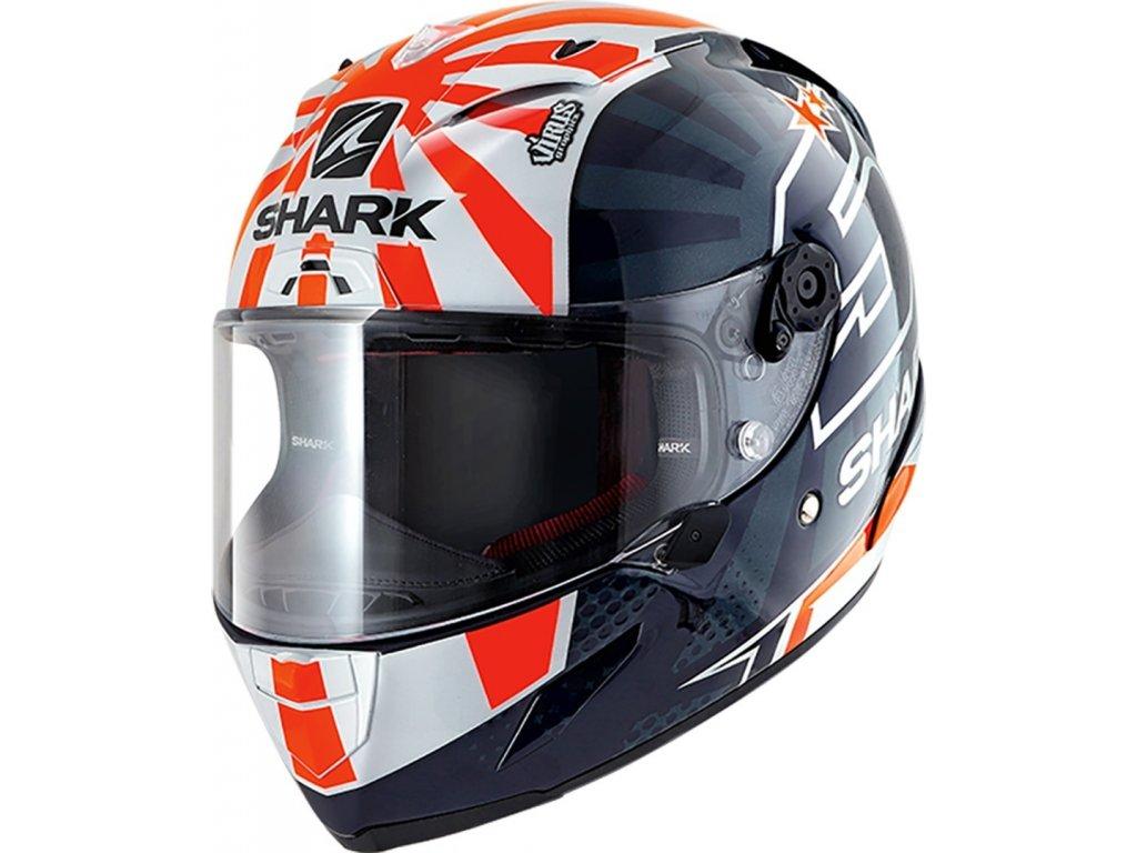 Prilba SHARK RACE R PRO ZARCO 2019 BWO