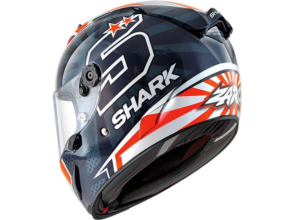 helma shark Race R Pro Zarco BWO 34Lfront HE8628