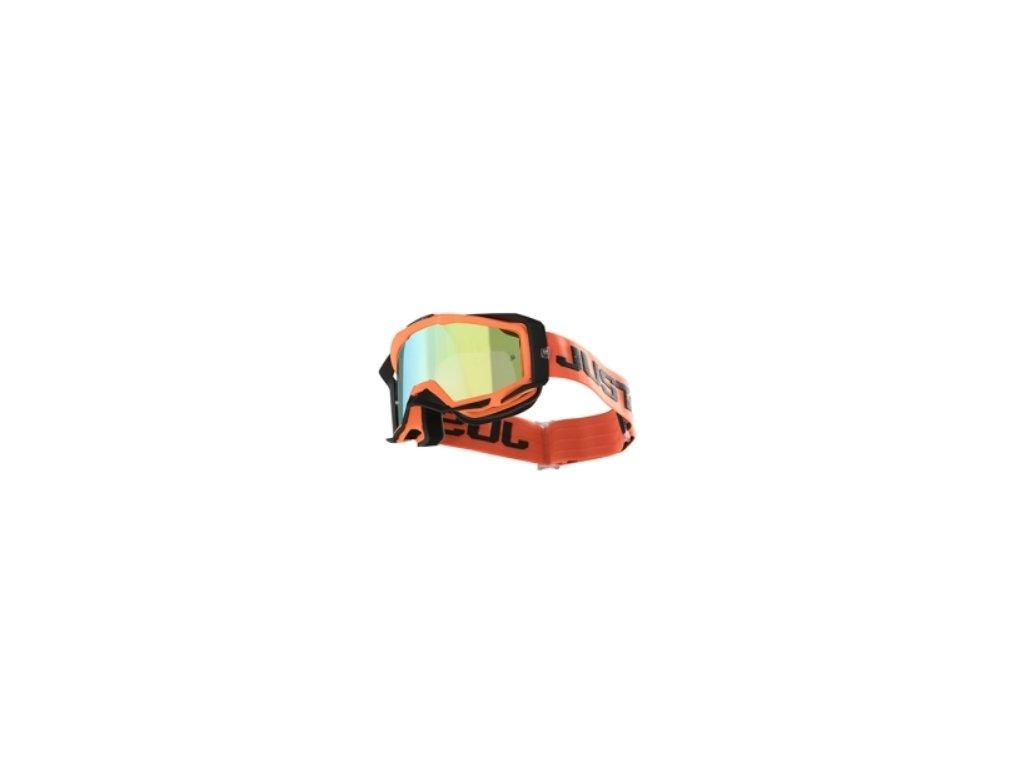 Brýle JUST1 IRIS TRACK oranžová šedá