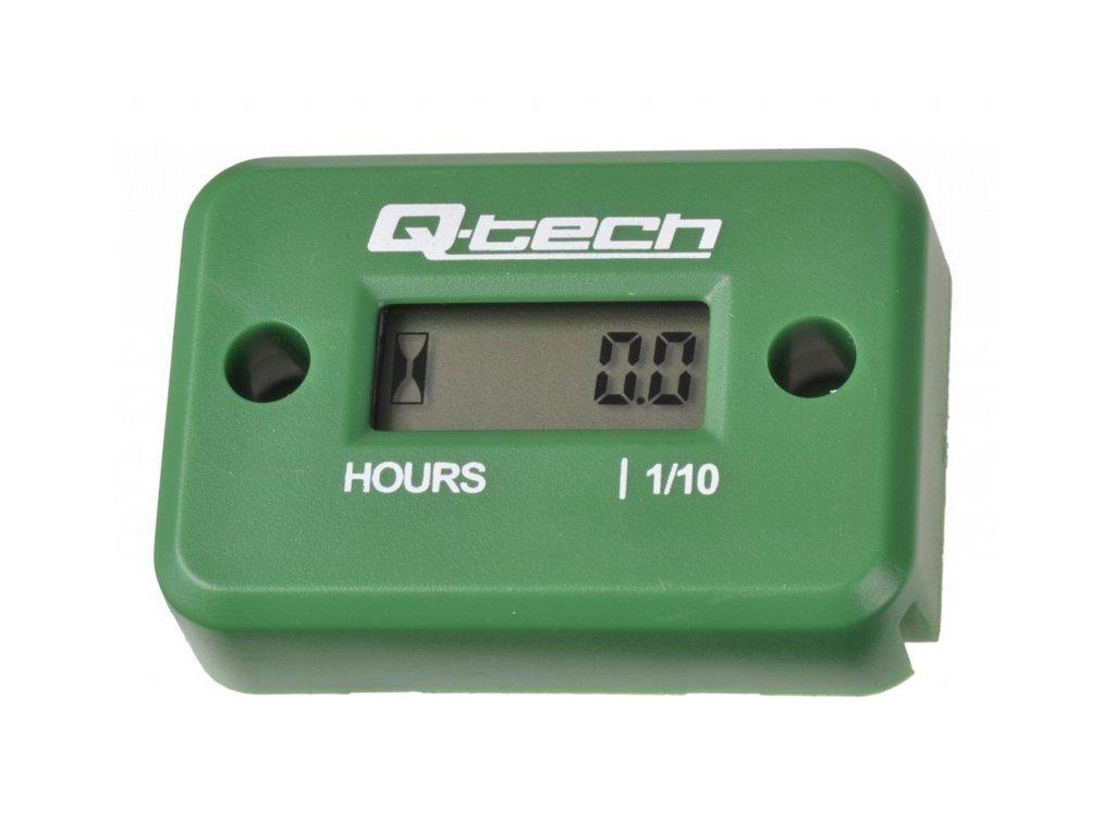 Vodotěsný měřič motohodin zelený