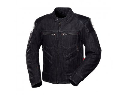 bunda na motorku 4SR Rowdie Denim Jacket Black 1