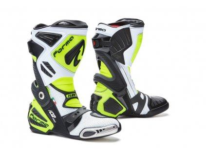 motocyklové boty forma ice pro flow yellow fluo 1