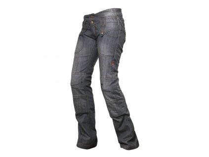 KALHOTY 4SR kevlar Jeans Lady Star Grey 1