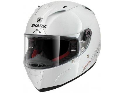 Prilba SHARK RACE R PRO Blank white WHU 1