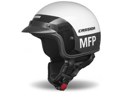 Přilba Cassida Police MFP černobílá M140 265