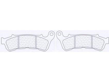 Brzdové destičky CL BRAKES A3+ 1159