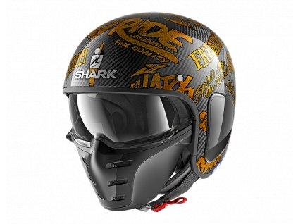Prilba SHARK S DRAK Freestyle cup DQQ