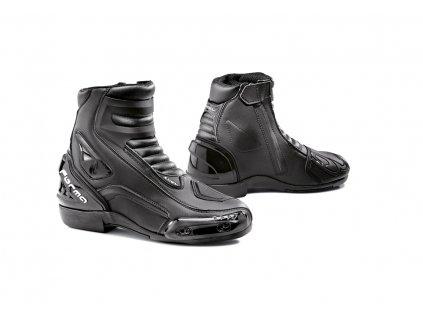 motocyklové boty forma axel black