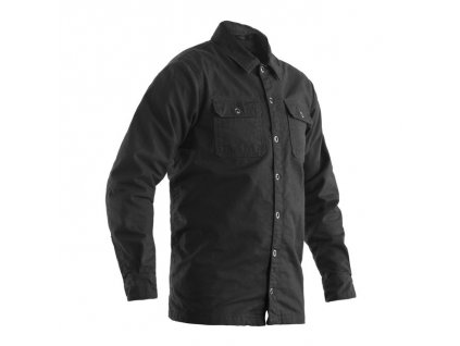 bunda 2214 heavy duty aramid lined shirt tex jkt gry 01