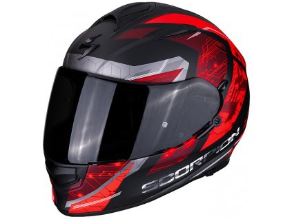 Scorpion EXO 510 AIR CLARUS black red 2