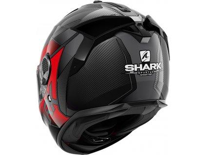 Přilba SHARK SPARTAN GT Carbon SHESTTER red DRA