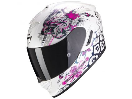 Prilba Scorpion EXO 1400 AIR TOA White Pink 4